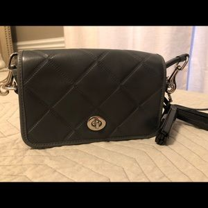 Coach quilted crossbody bag
